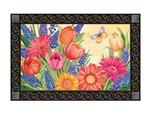 Spring Burst MatMates Decorative Doormat
