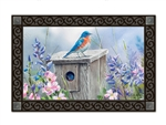 Bluebird Lookout MatMates Decorative Doormat