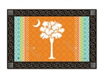 Preppy Palmetto MatMates Decorative Doormat