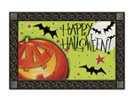 Great Big Pumpkin MatMates Doormat Anne Tavoletti Halloween