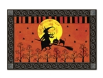 Witch's Ride MatMates Doormat Bernadette Deming Halloween