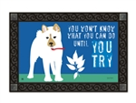 Until You Try MatMates Decorative Doormat