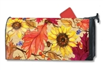 Sunflower Splendor Large MailWraps Magnetic Mailbox Cover