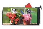 Chickadee Rest Stop Large MailWraps Mailbox Cover
