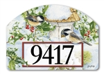 Chickadee Welcome Yard DeSigns Magnetic Art