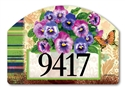 Pretty Pansies Yard DeSigns Magnetic Art