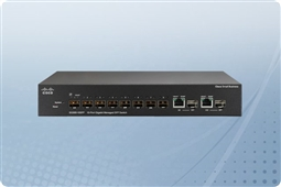 Cisco SG300-10SFP 10-port Gigabit Managed SFP Switch from Aventis Systems, Inc.