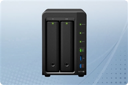 "Synology DiskStation DS718+ 2-Bay 2.5"" NAS from Aventis Systems"