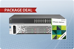 DL380p Gen8 Server, vSphere Essentials, and Cisco SG500-28 Switch Bundle from Aventis Systems, Inc.