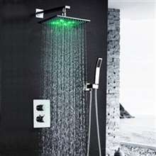 Sagua Wall Mounted LED Shower Set