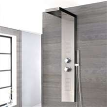 Lima Stainless Steel Shower Panel System