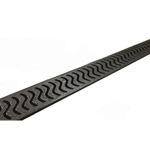 oil rubbed bronze linear shower drain flag design flange body