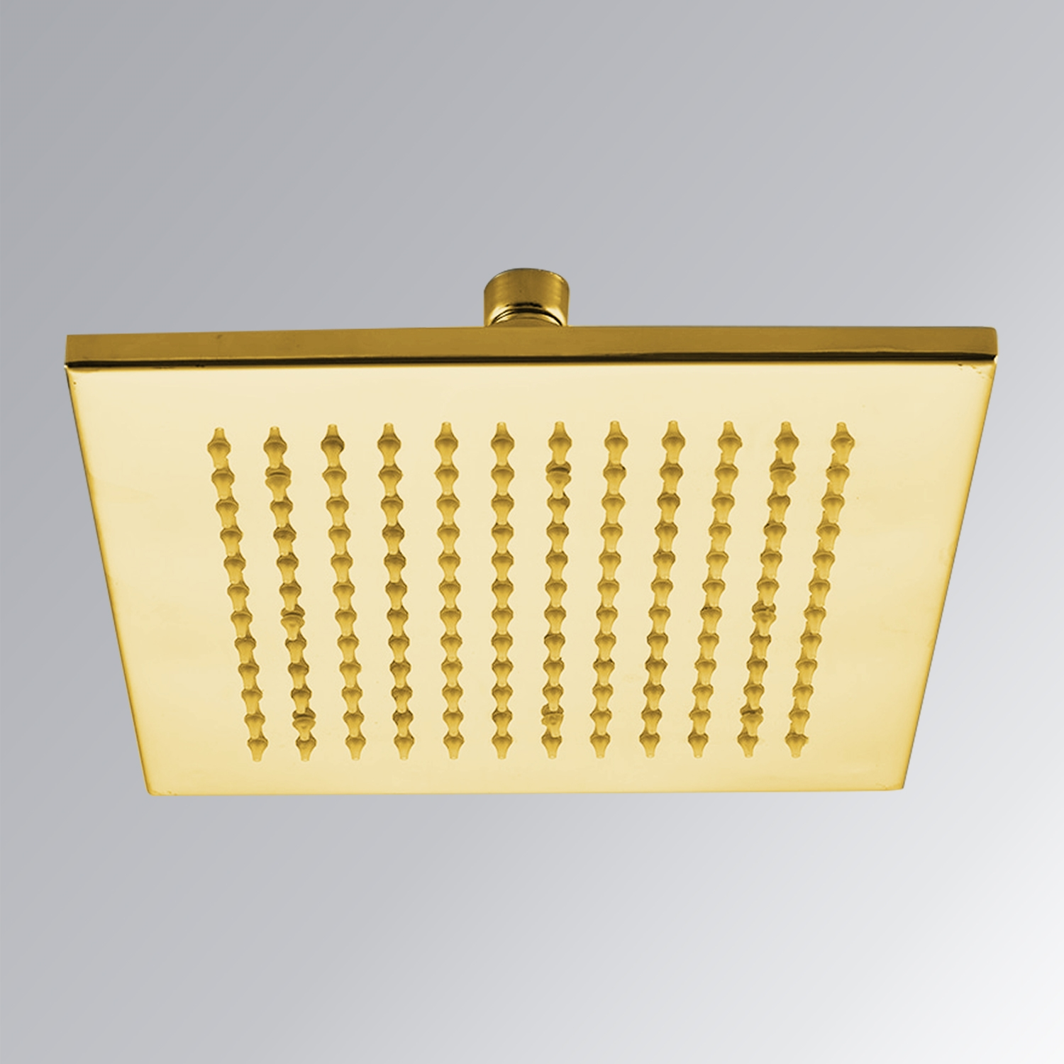 12 Quot Gold Plated Shower Head Led Shower Head