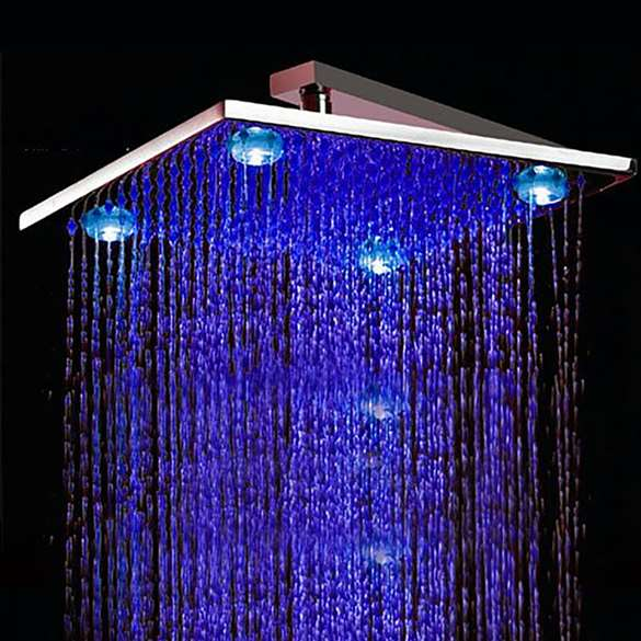 "8"" 10"" 12"" Wall Mount LED Shower Head"