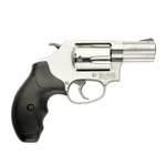 "Smith & Wesson 60 Revolver 162420 357 Magnum 2.13"" Rubber Grip Satin Stainless Finish 5 Rd"