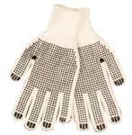 KINCO STRING KNIT GLOVES LG