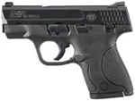 "Smith & Wesson M&P Shield Pistol 180020 40 S&W 3.1"" Barrel Polymer Frame Black Melonite Finish 6/7 Rd"