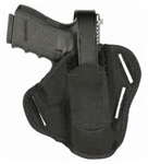 Blackhawk Nylon Pancake Holster fits 4.5-5in Barrel Largw Autos 40PC03BK