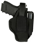 "BlackHawk Ambidextrous Holster w/Mag Pouch Fits 3-1/4""- 3-3/4"" Barrel Large Autos 40AM06BK"