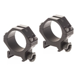 Redfield Four Hole Tactical Rings 30mm Extra High Black Matte 47607