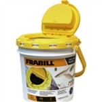 FRABILL INSULATED DUAL BAIT BUCKET W/AERATOR BUILT IN 4825