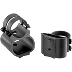 "Weaver 49721 1"" Steel Lock See-Thru Ring Mount FN Series Gloss"