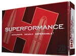 Hornady Superformance Rifle Ammunition 82221 300 Savage SST 150 GR 2740 fps 20 Rd/bx