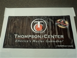 "THOMPSON CENTER ""AMERICAS MASTER GUNMAKER"" VINYL BANNER 3FTx 6FT 9629"