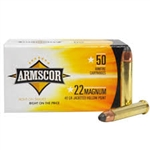 Armscor Precision 22 Magnum 40 Grain Jacket Hollow Point 50 Round Box