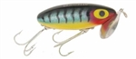 "ARBOGAST JITTERBUG TOPWATER LURE 2-1/2"" 3/8 OZ PERCH G600-05"