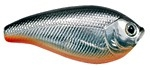 "MATZUO 2"" 1/4 OZ MEDIUM DIVER ASAI SHAD CHROME W/BLACK BACK ORANGE BELLY MAS-258"