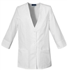 Cherokee Scrubs Lab Coat 1491 3/4 Sleeve Jacket