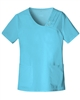 Cherokee Luxe Scrubs 1999 V-Neck Top