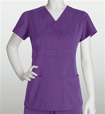 Grey's Signature Scrubs Womens  Mock Wrap 2153