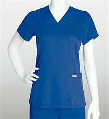 Grey's Anatomy 41101 2 Pocket Mock Wrap