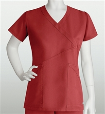 Grey's Anatomy 41383 3 Pocket Criss Cross Wrap Womens