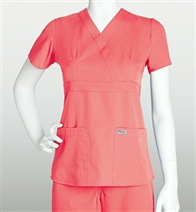 Grey's Anatomy Scrubs 3 Pocket Mock Wrap 4153