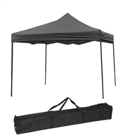 Trademark Innovations Lightweight Portable Canopy Tent Set Black Canopy Cover