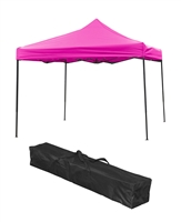 Trademark Innovations Lightweight Portable Canopy Tent Set Pink Canopy Cover