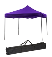 Trademark Innovations Lightweight Portable 10'x10' Canopy Tent (Purple)