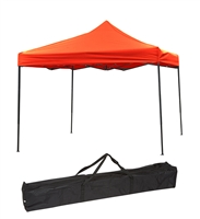 Trademark Innovations Durable Strong Canopy Tent Set Red Canopy Cover