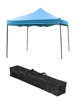 Trademark Innovations Lightweight Portable Canopy Tent Set Teal Canopy Cover