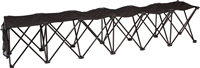 Trademark Innovations Sideline Collapsible Bench 6 Person Seater