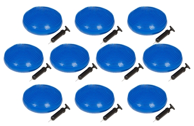 Trademark Innovations Fitness Balance Disc Seat, 13-Inch Diameter Set of 10