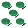 Trademark Innovations Fitness Balance Disc Seat, 13-Inch Diameter Set of 5