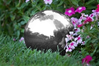 "Gazing Mirror Ball Stainless Steel By Trademark Innovations (Silver, 8"")"