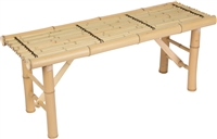 Bamboo Tropical Tiki Bench by Trademark Innovations
