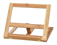 Cookbook Holder All Natural Bamboo By Trademark Innovations