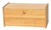 Bamboo Square Bread Box -All Natural Materials By Trademark Innovations