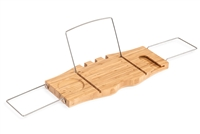 Bamboo Bathtub Tray Caddy by Trademark Innovations